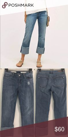 """Anthropologie PILCRO Hyphen Cuffed Jean New without tags! 26"""" inseam Anthropologie Jeans"""