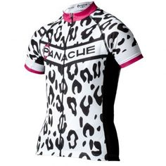 $130.00  Women's Snow Leopard Jersey  It is said that the leopard's success in the wild is due to its speed and climbing ability. We honor all of the fast cats in the peloton with this snow leopard graphic by guest designer and CU Cyclist, Abby Mickey. The fabric is an advanced super-wicking stretch fabric that has a multi-dimensional structure so the fabric doesn't cling to the rider's skin, even at high perspiration levels, virtually eliminating the need for a base layer in hot weather.