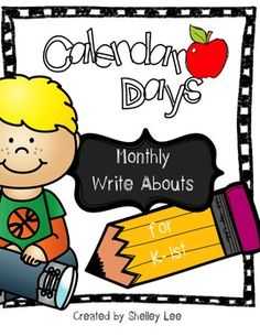Do you wish your students would write more? Well, this is just the ticket! These easy-to-use, easy on your ink, printable pages offer one topic related to each month of the year for them to stretch their brains with writing! Great for kindergarten through second grade!
