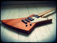 Creamery Custom Guitars Explorer Mahogany