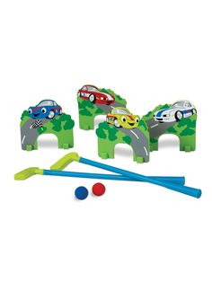 ff206d568a Edushape Mini Golf Racing Cars