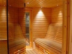 Vip-huvilan sauna.