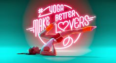Lena F in Yoga Editorial - be a better lover