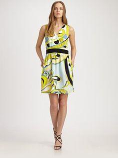 Emillio Pucci - fun dress for spring/summer!