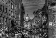 Canada. Old Montreal, Rue St. Paul //  500px by Alex Rykov