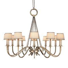 Fine Art Lamps 420840 12 Light Portobello Road Chandelier | ATG Stores