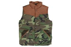Bellfield `Canton` Quilted Gilet (Green)