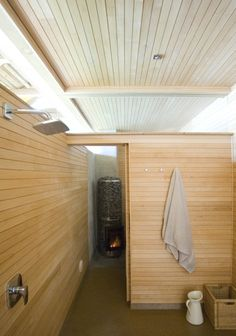 Sauna at Box
