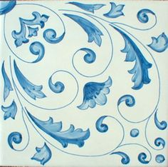 piastrella decorata in Gres Vietrese