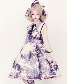Lolita Fashion / Cute Dress / Headband / Kawaii Japanese Fashion Photography / Harajuku / Kiyohari / Cosplay // ♥ More @lDarkWonderland