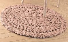 Pretty Little Rug (free). This oval shape is really nice.