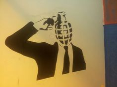 #stencil #painting