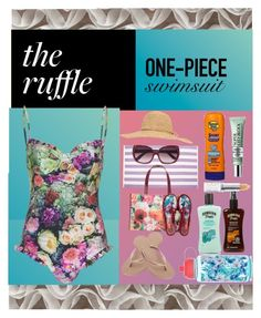 """""""The Ruffle...One Piece Swimsuit"""" by onesweetthing on Polyvore featuring Havaianas, Wildfox, Tom Ford, Calypso St. Barth, Banana Boat, Hawaiian Tropic, Clinique, Elizabeth Arden, Ted Baker and New Look"""