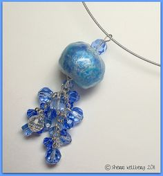made using her Faux Glass Bead Tutorial