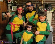 Teenage Mutant Ninja Turtles - Halloween Costume Contest