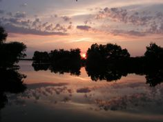 Sunset in the Danube Delta by Alex Moise on 500px