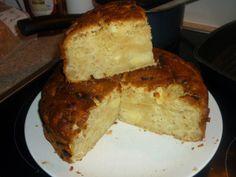 Appel rabarbere cake - Apple rubarb cake