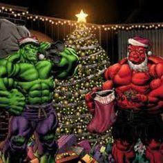 Christmas Hulks