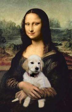 Lisa with Dog