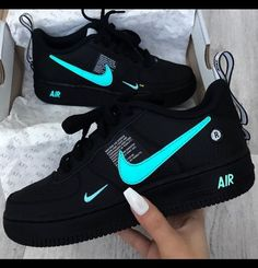 """Top Nike you Can get Right Now If getting a new sneakers is on your list here are 5 Nike you can get right now. This summer Nike is also releasing """" Inside Out"""" Air Force 1 so keep an eye out for that. Whatever you may be into one of these Nike will do… Sneakers Mode, Custom Sneakers, Sneakers Fashion, Vans Sneakers, Sneakers Style, Fashion Outfits, Nike Custom Shoes, Fashion Fashion, Sneakers Workout"""