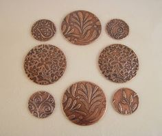 Patterns for copper etching