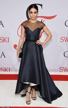 Vanessa Hudgens in Sachin & Babi Noir - 2015 CFDA Fashion Awards at the Lincoln Center in New York City.  (1 June 2015)
