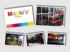 Monki's Place  Tenemos toda la experiencia para que la fiesta de sus hijossea espectacular! Polaroid Film, Kids Events, Parties Kids, Sons
