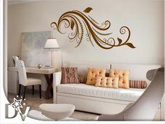 #falmatrica #inda #motívum #lakberendezés #faldesign #otthon Modern, Diy, Home Decor, Painted Houses, How To Paint, Little Cottages, Trendy Tree, Decoration Home, Bricolage