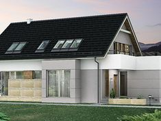 Wizualizacja HG-I22 CE House Layout Plans, House Layouts, Outdoor Decor, Design, Home Decor, Homes, Room Decor, House Floor Plans, Design Comics