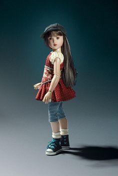 "Hi Tops and Ruffles Raven 2009 Dressed 14"" Helen Kish Doll Retired Mohair Wig   eBay"