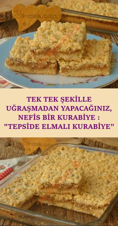 ekil vermeden tepside kolayca yapaca n z k y r k y r lezeetli bir kurabiye tarifi Delicious Cookie Recipes, Yummy Cookies, Dessert Recipes, Yummy Food, Desserts, Easy Recipes, Dinner Recipes, Healthy Recipes, Bagel Bar