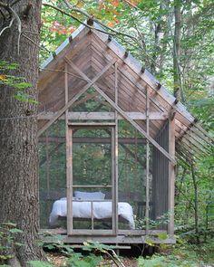 Thrive In Midlife — georgianadesign: Vermont summer sleeping 'cabin'...