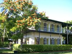Ernest Hemingway Home & Museum - Home of the Nobel Prize-winning American writer, today home to many six-toed cats