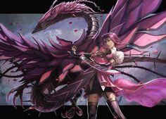 Akiza Izinski & The Black Rose Dragon. Fantastic Art!