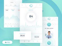 iCare Free Mobile App by Patryk Wąsik
