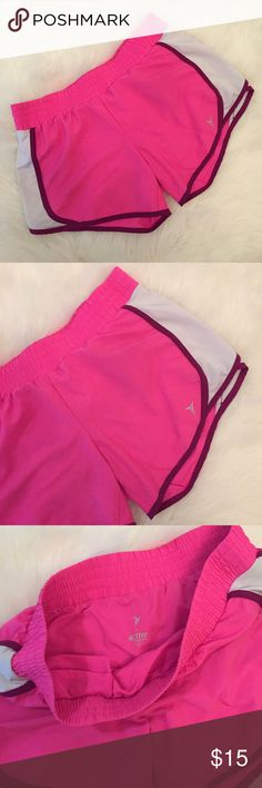Old Navy Neon Pink Active Shorts With only a couple times. Excellent condition. Built in liner. No flaws. Size M. Has stretch. Very comfy. No trades. Old Navy Shorts