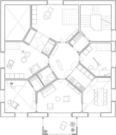 Housing Study: PlanStudy Zwyssigstrasse 14 Bern, Atélier Christian Scheidegger & Jürg Keller 2011