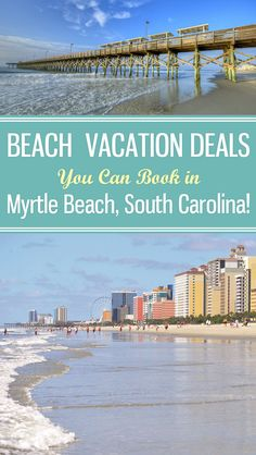 Wonderful Beach Vacation Deals in Myrtle Beach, South Carolina along 60 Miles of Beautiful Beaches!  Plan your next dream beach travel getaway to a wonderful east coast destination.  Don't forget to check out our YouTube channel for tips on Packing Outfits for the Beach.