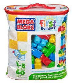 Mega Bloks 8416 First Builders ECO Bolsa 60 Clásica