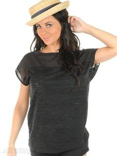 Volcom Black Misty Muse Womens T-Shirt