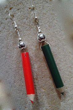 orecchini matita