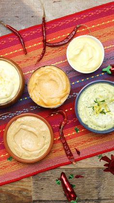Spice up your homemade dips with roasted garlic and herbs, Mexican, Japanese, and Southern-inspired ingredients.
