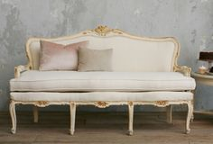Louis XV French Style Settee