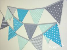 Girlanden & Wimpelketten - ♥Wimpelkette, Girlande♥ - ein Designerstück von binga-b bei DaWanda