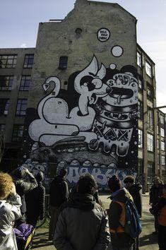 """Entdecken Sie auf unserer Radtour """"Streetart Berlin"""" die aufregende Entwicklung Berlins zum weltweiten Streetart-Mekka. Wir schärfen Ihren Blick für Kunst im Stadtraum – ganz ohne Museum und Galerie. Egal ob Sprayer, Kleber, Stricker oder Müllkünstler; Berlin bietet seinen Kreativen genug Fläche, um sich richtig auszutoben."""