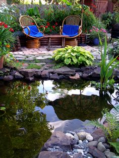 My favorite backyard hangout (My own garden)