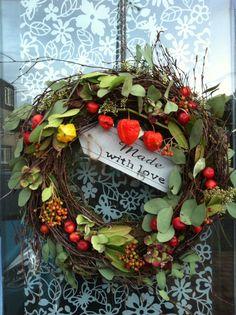 Herfstkrans Autumn Www.ineke.info workshops