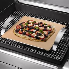 Weber Pizza Stone - Outdoor Pizza Ovens at Hayneedle