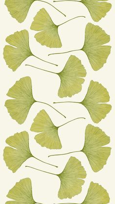 Ginkgo print by Kristina Isola for Marimekko