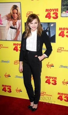 chloe moretz movie 43 photos | Chloë Moretz looked like the coolest teenager on the block at the red ...